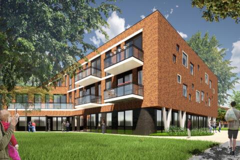 Zorggebouw Julianakwartier Apeldoorn Lengkeek Architecten