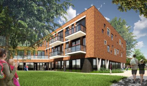 Zorggebouwen Julianakwartier Apeldoorn Lengkeek Architecten