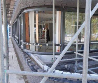 Voortgang Kantoor Nijhuis Lengkeek Architecten